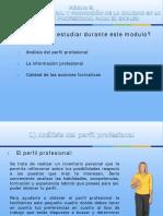 Módulo 5. Orientación Laboral y Promoción de La Calidad en La Formación Profesional Para El Empleo. I