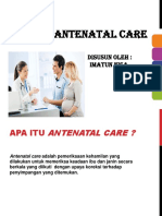 Ppt Antenatal Care