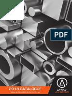 Action Aluminium Catalogue 2018