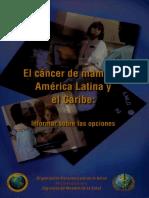 El cancer de mama en America Latina y el Caribe Informar sobre las opciones.pdf
