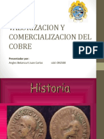 Valorizacion y Comercializacion Del Cobre