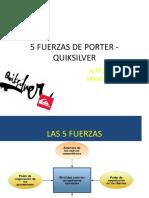5 Fuerzas de Porter - Quiksilver