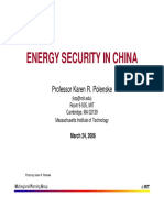 Energy Sec InChina