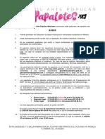 Convocatoria Concurso Papalotes 2019 Map