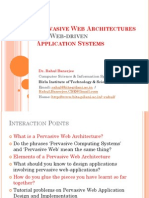 Pervasive Web Services and Security 2010