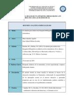 Resumen Analítico Especializado, Cesar a. Cruz s. Lectura 3