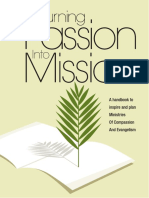 Turning Passion Into Mission Sngl Pg