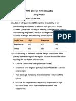 329952044 Hvac Design Thumb Rules