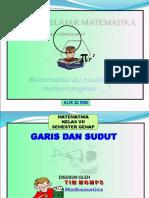 Rpp Matematika Smp Kelas Vii Bab Garis Dan Sudut