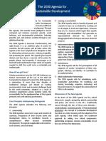 2030 Agenda for Sustainable Development Kcsd Primer En