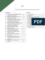 Menjodohkan Bab 5 Sosiologi kelas X