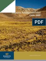 Reporte Barrick Chile 2009