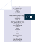 Document (1) Song