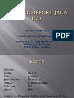 MORNING REPORT JAGA IGD  2.pptx