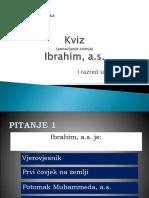 Kviz- Ibrahim, a.s.