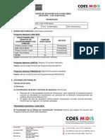 REPORTE DE SITUACIÓN N°012-COES MIDIS
