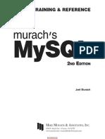 Murach s MySQL, 2nd Edition