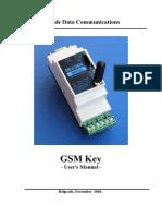 Users Manual Gsm Key