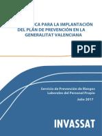 Guía Técnica Para La Implantación Del Plan de Prevención de La GV_cs