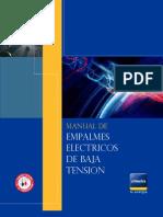 Manual Empalmes Eléctricos de Baja Tensión