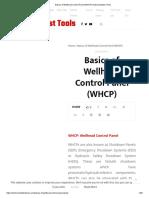 basics of Well
