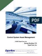 Control System Asset Management