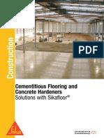 Cementitious Flooring & Concrete Hardeners