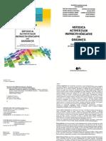 Metodica Activitatilor Instruct Educative in Gradinita 2017