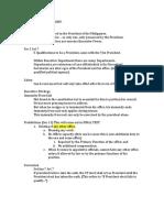 Executive Department - Consti 1