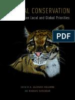 Publicação Tropical Consevation Livro Capítulo