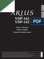 Manual Yamaha Arius