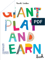 Giant Play and Learn Activity