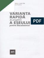 Literatura Romana. 67 de Eseuri Pentru Bacalaureat Si Lucrul Acasa - Margareta Onofrei