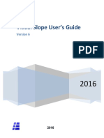 Visual Slope Users Manual V6