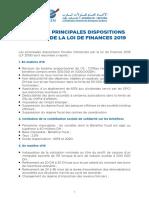 - CGEM Mesures Fiscales LDF 19 RESUME