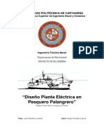 Diseño Planta Eléctrica en Pesquero Palangrero