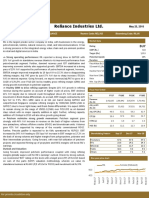 Research Report Reliance Industries