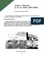 Filatelia e Historia. La Campaña de Los Sellos (1893-1894)