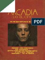 Arcadia va al Cine. Ed. 14-15