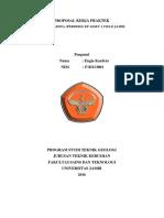 Proposal Kerja Praktek, Engla Kardeta, Teknik Geologi, Universitas Jambi