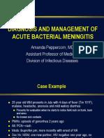 Peppercorn Meningitis