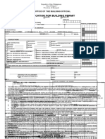 Application for Building Permit (for building permit).doc
