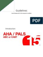 Guideline for Emergency Medicine
