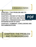 Parts of a Research Paper