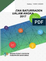 Kecamatan Baturraden Dalam Angka 2017