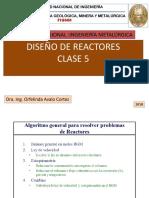 Diseño de Reactores CLASE 5-2018
