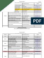 Base de Datos Monitores Punto de Contacto Actualizada Sep 2010