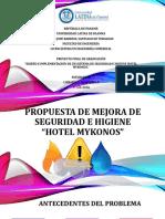 Propuesta de Mejora de Seguridad e Higiene