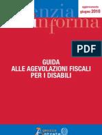 Agevolazioni fiscali per disabili