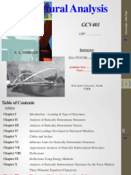 GCV401 - Structural Analysis - Chapiter 0 - Cover